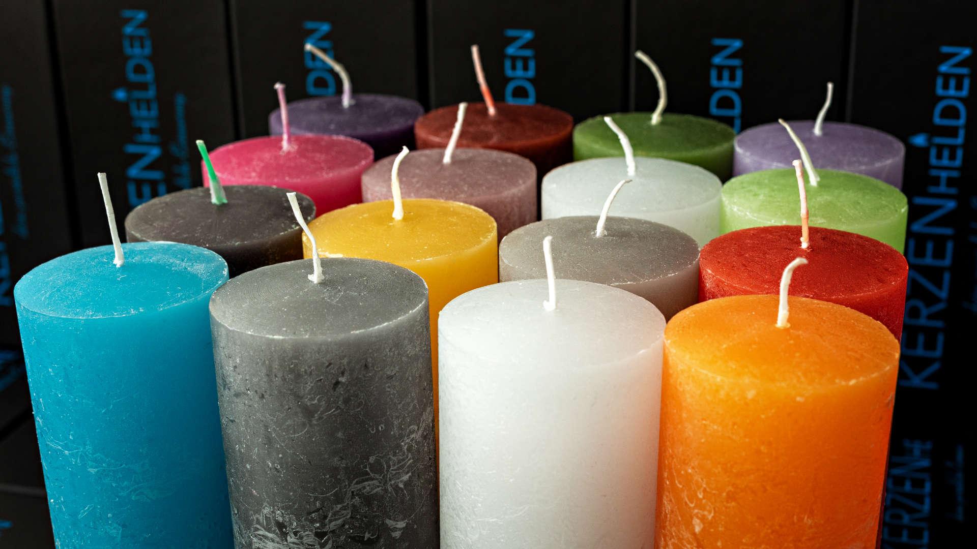 Kerzenhelden Kerzen